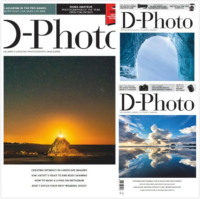 新西兰版 D-Photo 高端数码摄影杂志 2019年订阅 已更新5月