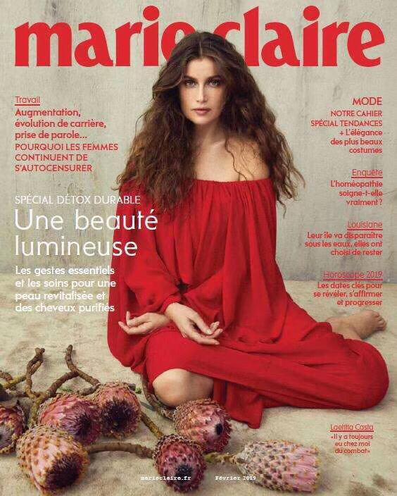 [法国版]Marie Claire 嘉人时尚杂志 2019年2月刊
