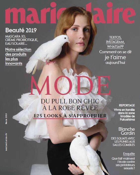 [法国版]Marie Claire 嘉人时尚杂志 2019年3月刊