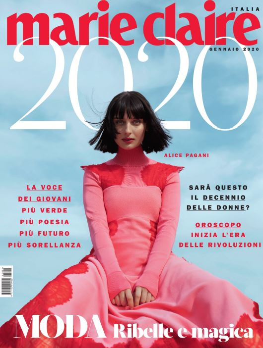 [意大利版]Marie Claire 嘉人女性时尚杂志 2020年全年订阅