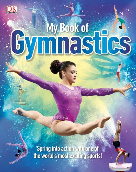 DK2020新书 My Book of Gymnastics 我的体操书 PDF下载