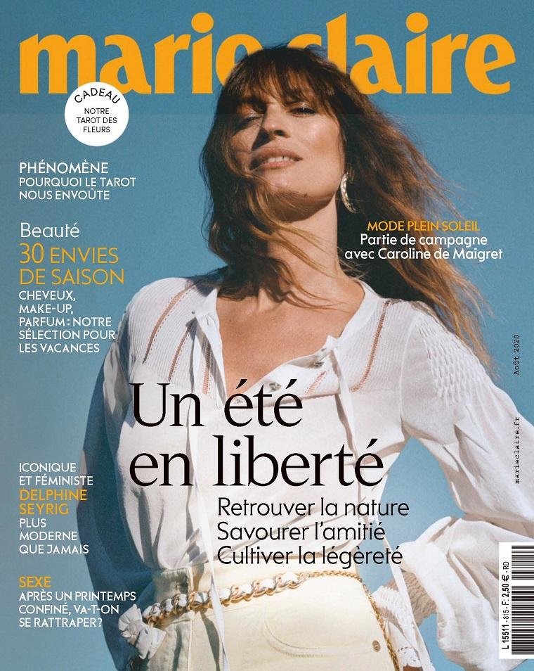 [法国版]marie claire 嘉人 PDF时尚杂志 2020年08月号 196页