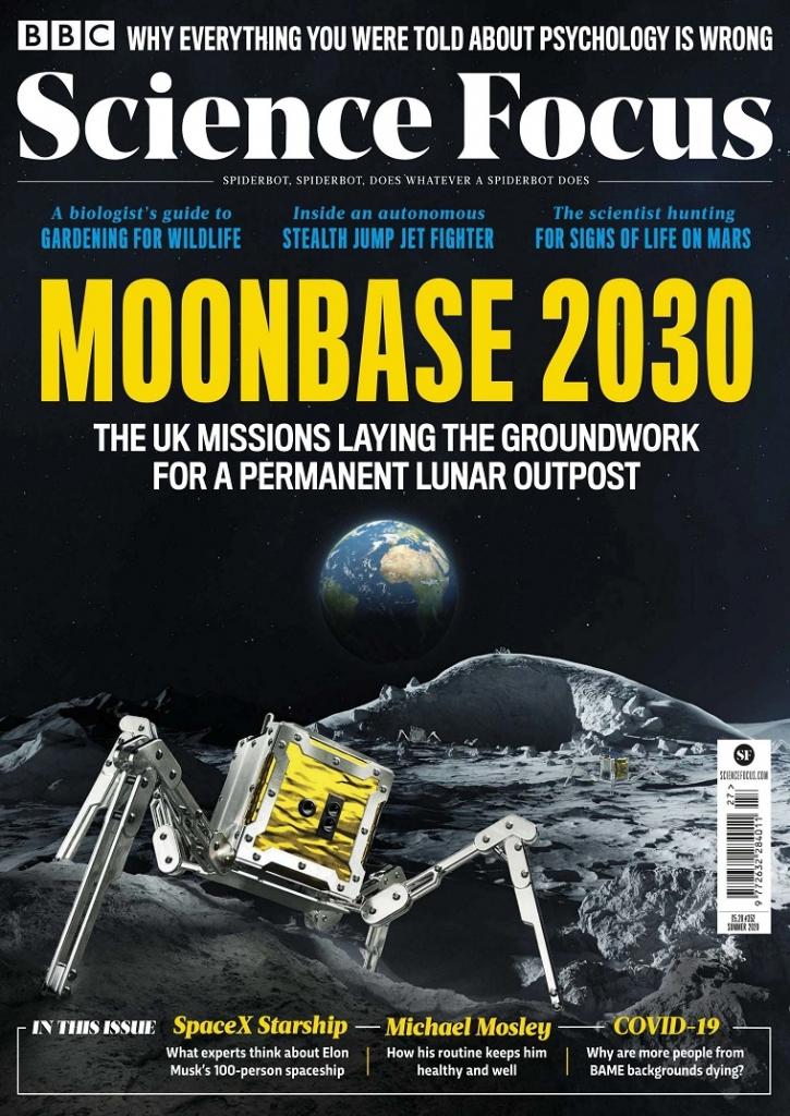 BBC Science Focus BBC科学聚焦 科普杂志 2020年夏号 2030月球基地 92页 PDF下载