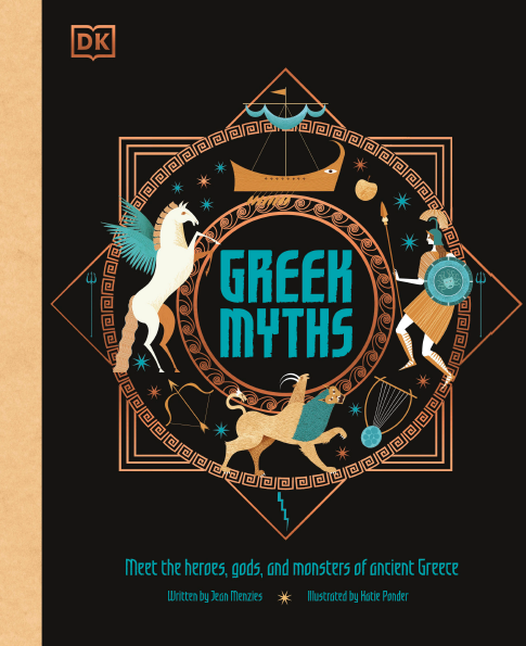 DK 2020新书 Greek Myths: Meet the heroes, gods, and monsters of ancient Greece