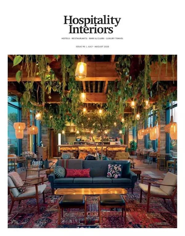 [英国版]Hospitality Interiors 酒店空间室内设计 2020年7-8月刊