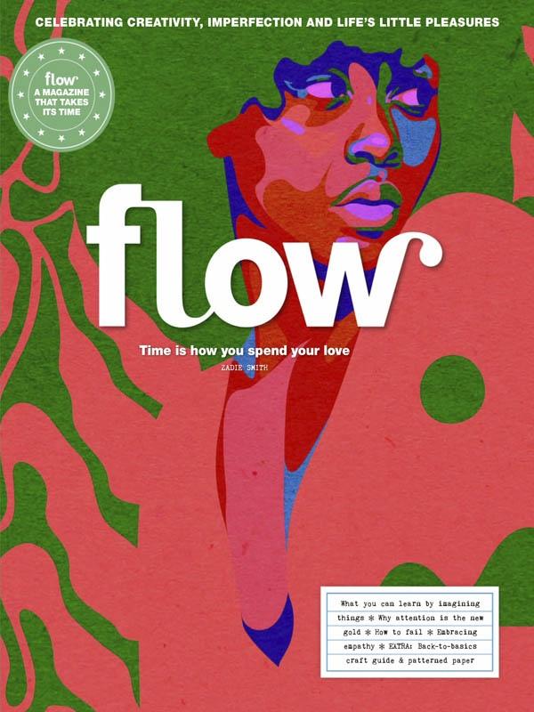 Flow International 插画文艺时尚小清新 2020年9月刊