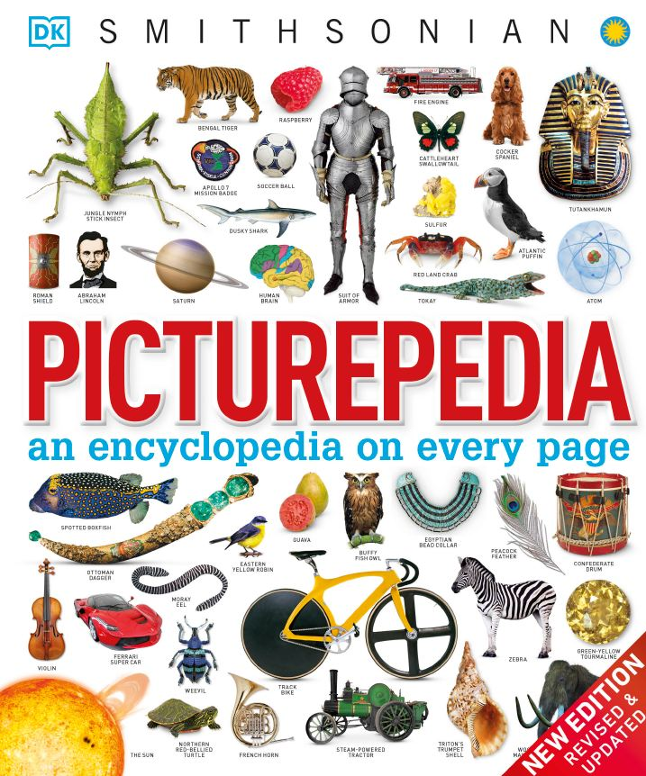 Picturepedia: An Encyclopedia on Every Page 2020DK 新书