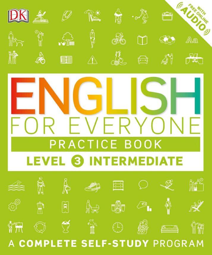 English for Everyone: Level 3: Intermediate Course Book+Practice Book