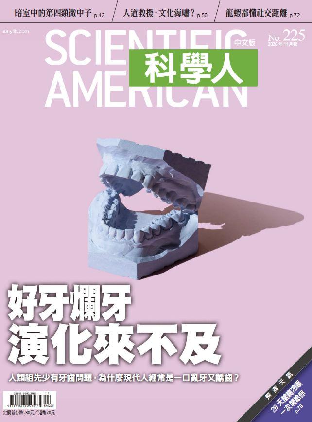 台湾版 科学人 科学美国人 Scientific American 2020年11月号