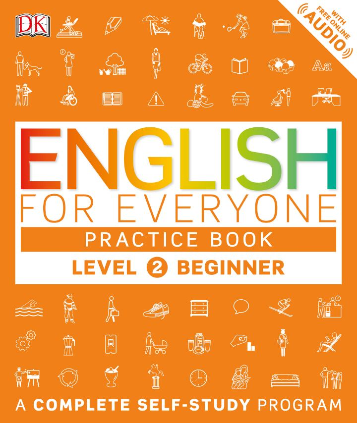 English for Everyone: Level 2: Beginner Course Book+Practice Book