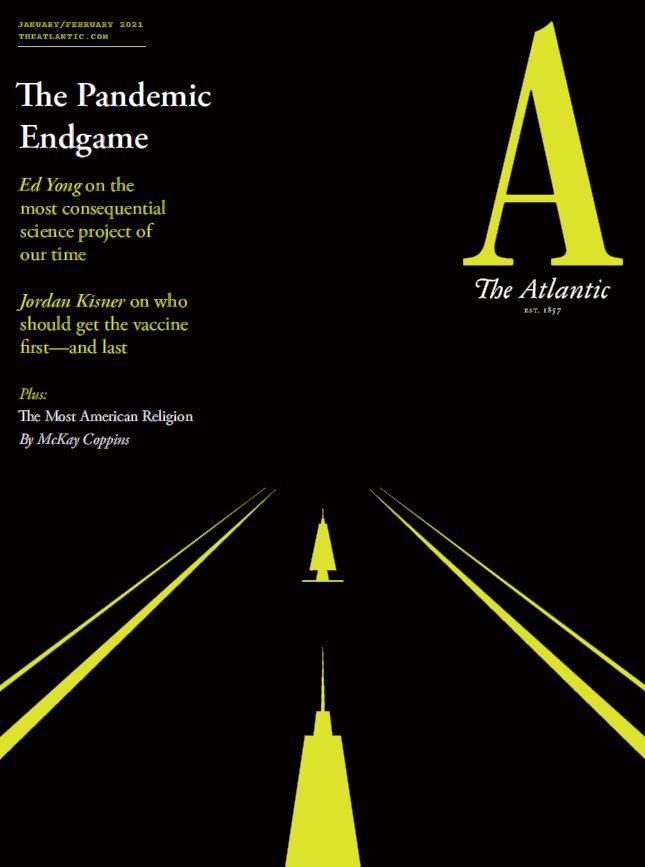 美国版 The Atlantic 大西洋月刊 2021年 1-2月合刊