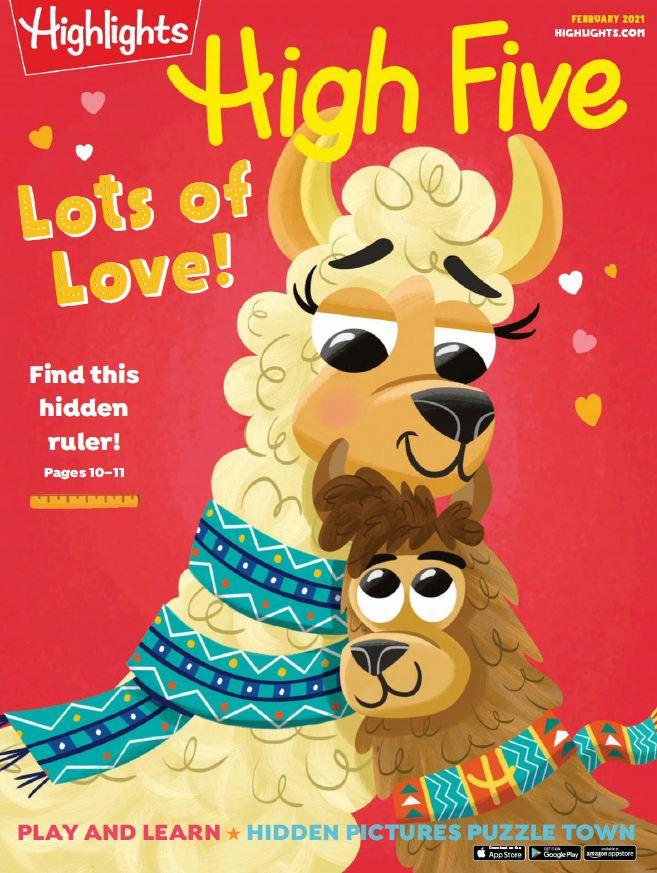 Highlights High Five 儿童杂志3-6岁 2021年全年订阅