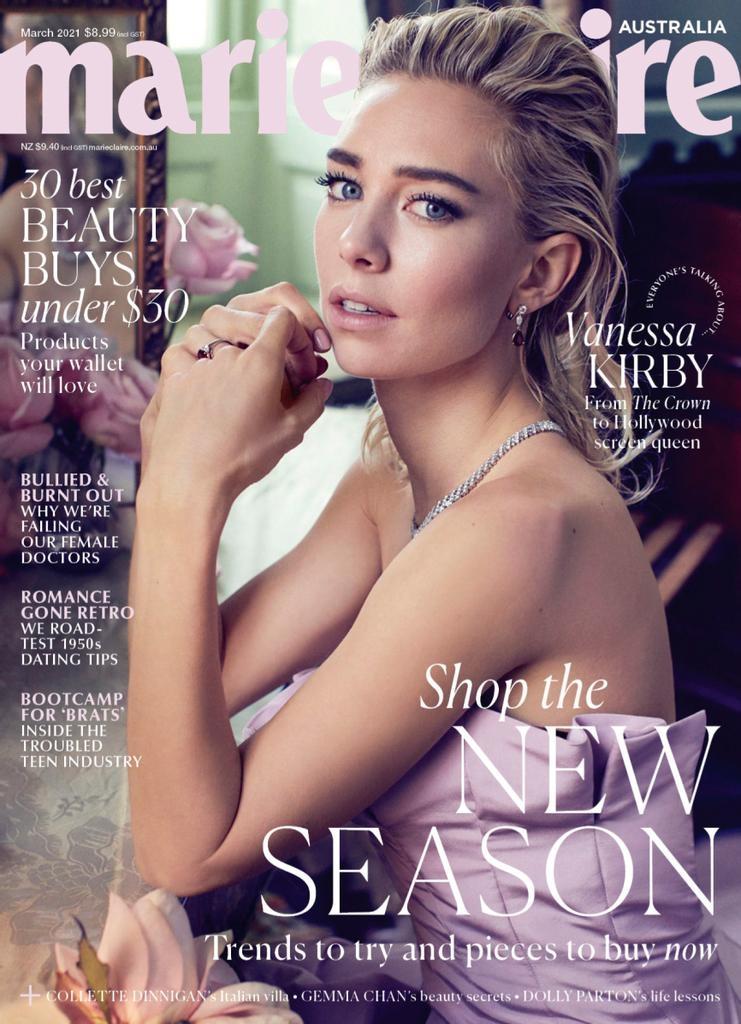 marie claire 澳大利亚 嘉人时尚杂志 2021年3月号