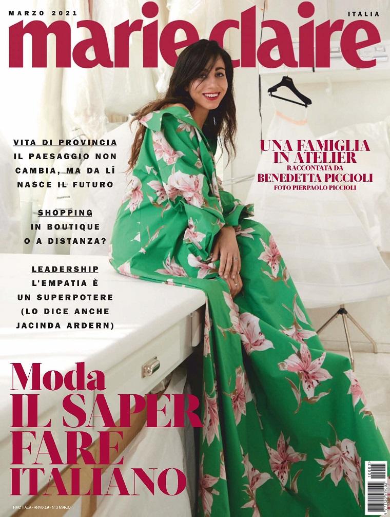 marie claire 意大利 嘉人时尚杂志 2021年3月号