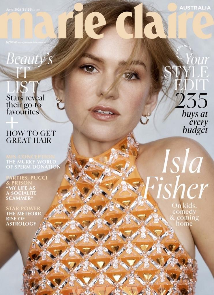 marie claire 嘉人时尚杂志 澳大利亚 2021年06月号