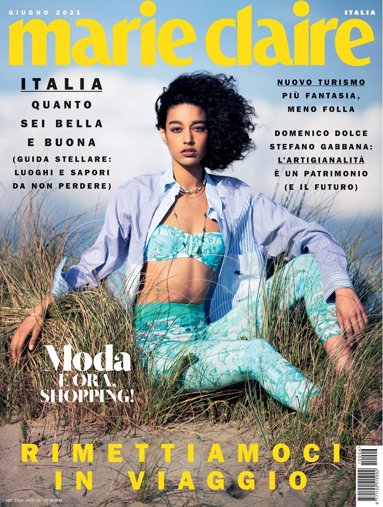 marie claire italia 嘉人 时尚杂志 意大利 2021年06月号