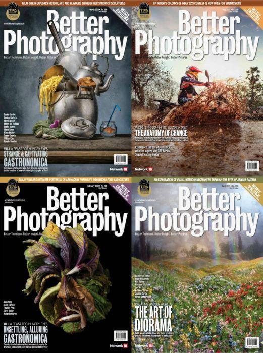 Better Photography 更好的摄影杂志 印度版 2021年全年订阅