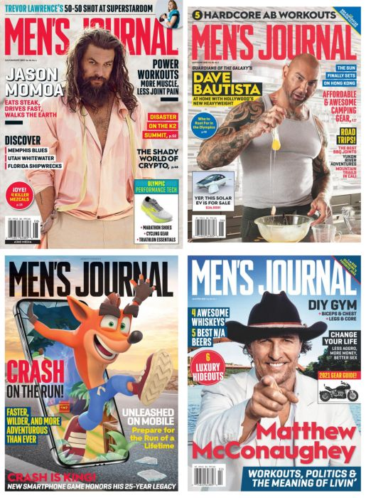 MEN'S JOURNAL 男士杂志 2021年全年订阅