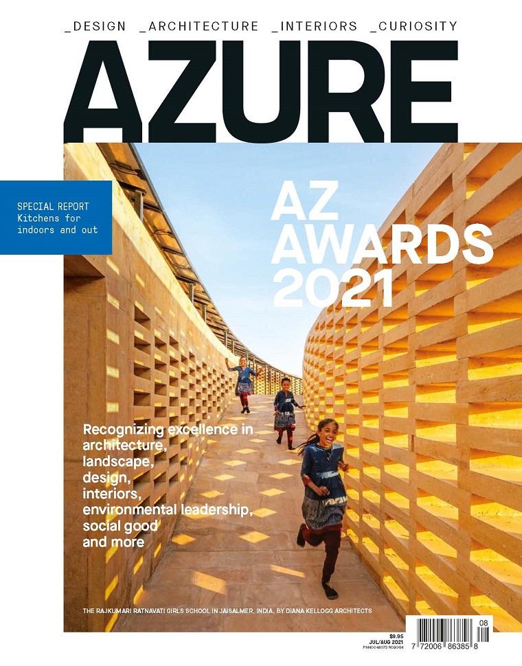 AZURE 加拿大 建筑室内设计杂志 2021年07-08月号