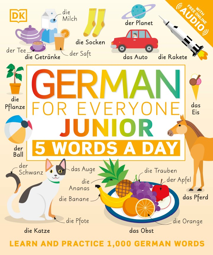 German for Everyone Junior 5 Words a Day DK2021