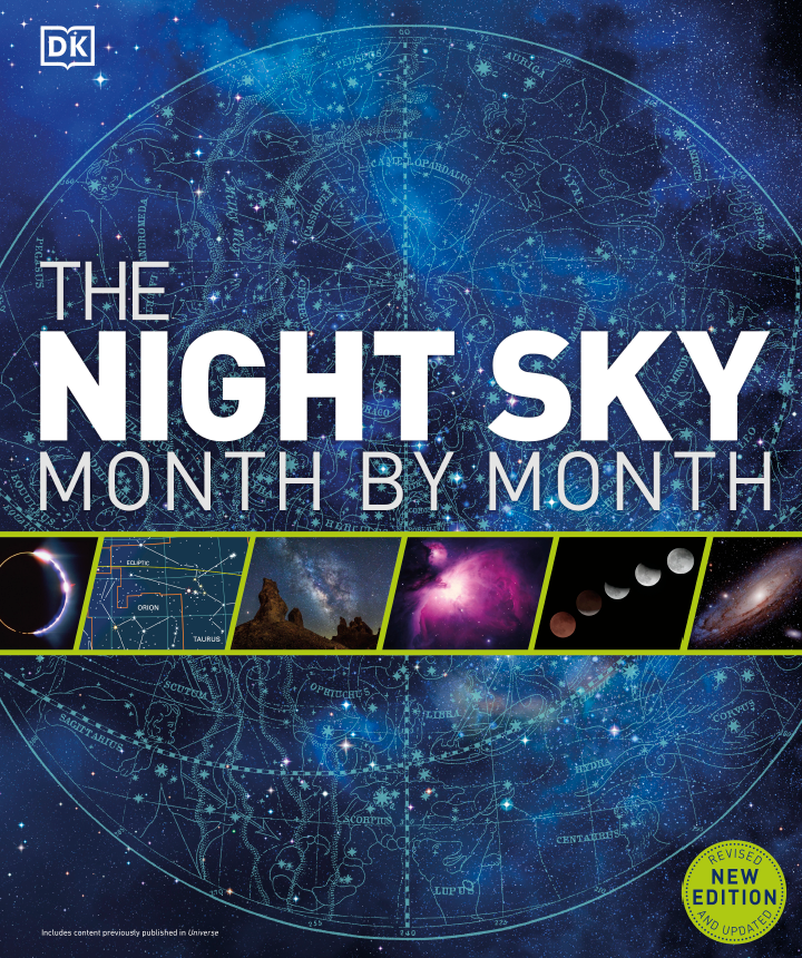 The Night Sky Month by Month DK2021